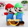 Mario E Luigi De Pelúcia Nintendo Super Mario Bros Series