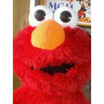 Boneco Elmo Vila Sésamo Mattel(faz Muitas Coisas)27cm