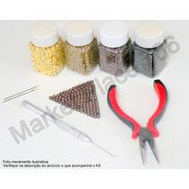 Kit Mega Hair, Micro Link,alicate,agulha Interlace,megahair,