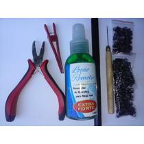 Kit Megahair Alicate+agulha+removedor+queratina,microlink...