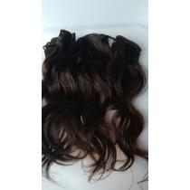 Cabelo Humano Cast. Leves Ondas Tela 25 Cm 50 Gr- Mega Hair