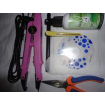 Pinça Mega Hair Kit Completo +.d.v.d Gratis Pronta Entrega