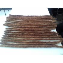 Dreads Loiro Dourado 3 Un 50cm De Dreads De Cabelo Humano