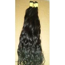 Cabelo Humano P/mega Hair Leve Ondas 70 Cm 100 Gramas
