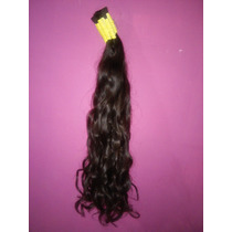Cabelo Humano Natural P/mega Hair Leve Ondas 60 Cm 150 Grama