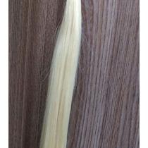 Cabelo Humano Platinado 60cm X 50g