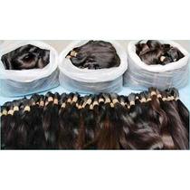 Cabelo Humano Natural Indiano 50/55 Cm 50gramas Mega Hair