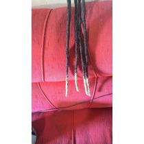4 Dreads Naturais De Cabelo Humano 50cm C/pontas Loiras