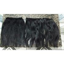 Cabelo Humano 3 Telas Mega Hair 50 Cm Tela 50gr 50cm Aplique