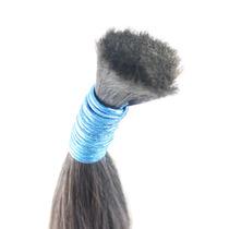 Cabelo Humano Virgem Natural 70-75 Cm 1kg Para Mega Hair