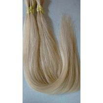 Cabelo Natural Humano Loiro Liso 50gr 70cm - Mega Hair