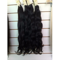Aplique-cabelo Humano -megahair-ondulado - 70cm -50 Gr