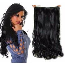 Mega Hair Aplique Tic Tac Tela Única, Igual Cabelo Humano