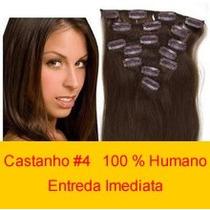 Tic Tac 51 Cm 100 % Humano Castanho Medio #4 80g 7 Peças