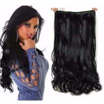 Mega Hair Aplique Tic Tac Tela Única, Igual Human Hair