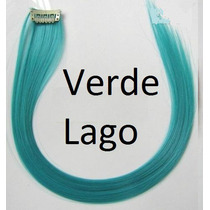 Mecha Colorida Tic Tac 3cm X 50cm - Verde Lago