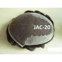 Jac-20 Protese Capilar Silicone Com Tela (lace) Jachair