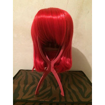 Peruca- Wig Curta Chanel Vermelha - Cosplay - Encomenda