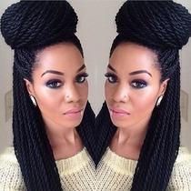 Kanekalon Fio Á Fio Xpression Braid Hair Ideal Tranças Twist