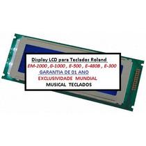 * Display Lcd Para Teclados G1000, Em2000, E480b, E500, E300