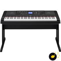 Piano Digital Yamaha Dgx660 Preto - 016431