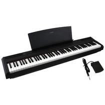 Piano Digital Yamaha P105+pedal De Sustain+fonte - Guarulhos