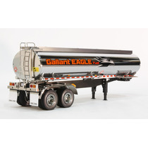 Carreta Semi Trailer Tamiya Fuel Tank 1/14 Pronta Ent.#56333