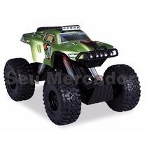 Carro Pick-up Com Controle Remoto Alto Grande 50cm Suspenção