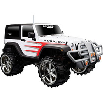Jeep Wrangler Rubicon Escala 1:16 Com Controle Remoto -