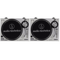 Par Toca Discos Audio-technica At-lp120-usb - Djfast