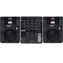 Kit Pick-up Completa 2 Cdj Gemini 650 + Mixer Gemini Ps3 Usb