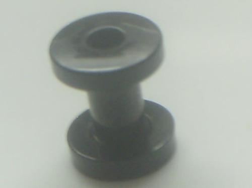 Piercing Orelha Alargador Aço Preto Black 4.0 Frete Grátis