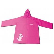 Capa De Chuva Infantil Da Barbie Licenciada Zippy Toys