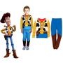 Pijama Fantasia Woody Toy Story - Pronta Entrega