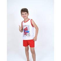 Kit C/10 Pijama De Malha Infantil - Menino - Atacado