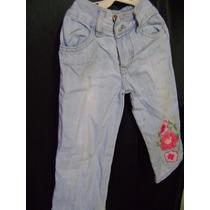Calça Jeans Infantil Da Forra Pinhos