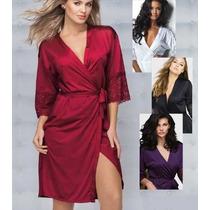 Robe Nupcial Demillus Lingerie Com Renda Sexy - Promoção