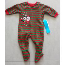 Pijama Infantil Disney - Mickey E Minnie - 9 A 12 Meses