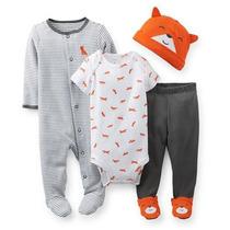 Kit Pijama Infantil Carter´s Original - 6 Meses