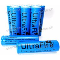 Kit 6 Baterias Recarregável 18650 7800mah 3.7v