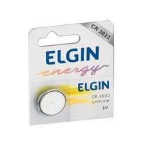 Bateria Lithium 3v Cr 2032 Embalagem Elgin