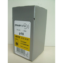 Bateria Para Aparel/auditivo Power One 10 Germany Cx Com 60u