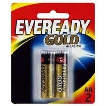 Pilha Eveready Gold Alcalina Aa2 Caixa C/ 20u 10 Cartelas !!