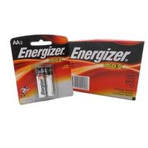 Pilha Energizer Max Aa2 Alcalina Caixa C/ 40u 10 Cartelas !!