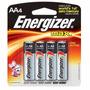 Pilha Alcalina Aa 1,5v Energizer Max 10 Cartelas C/ 4 Unid.