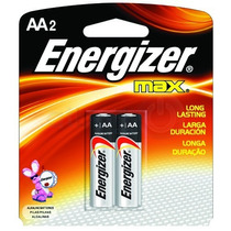 Pilha Energizer Max Aa2 Alcalina Caixa C/ 10 Unid 20 Pilhas