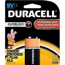 Bateria Alcalina 9v Duracell Bt 1 Un