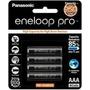 Pilhas Panasonic Eneloop Pro 4x Aaa Bk4hcce 950mah No Brasil