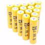 Kit 10 Bateria 18650 Liion Gold 8800mah 3.7v Lanterna Tática