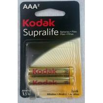 Pilha Alcalina Aaa - Kodak - Embalagem Com 20 Pilhas